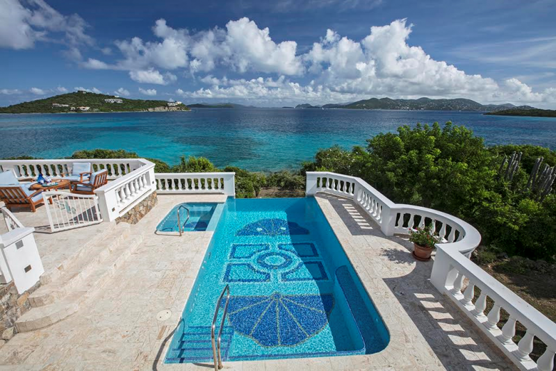 St. John and BVI views