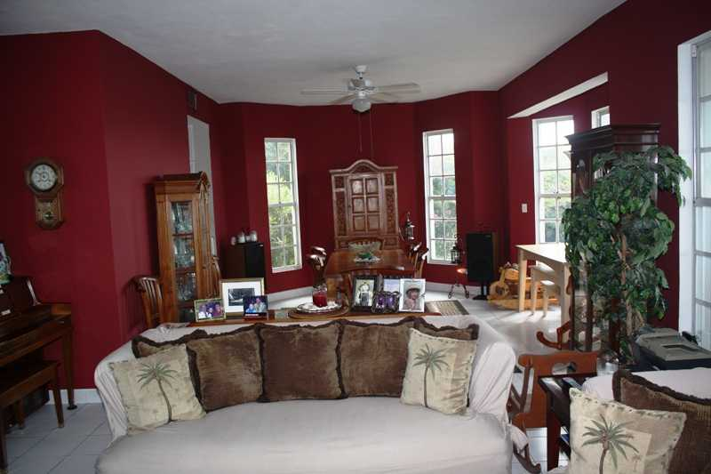 Large Living and Dining room combined