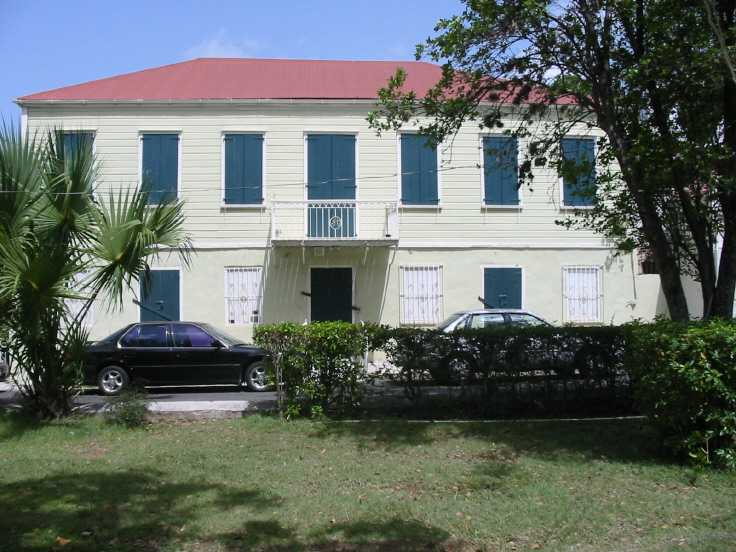 Anduze Building Downtown Charlotte Amalie