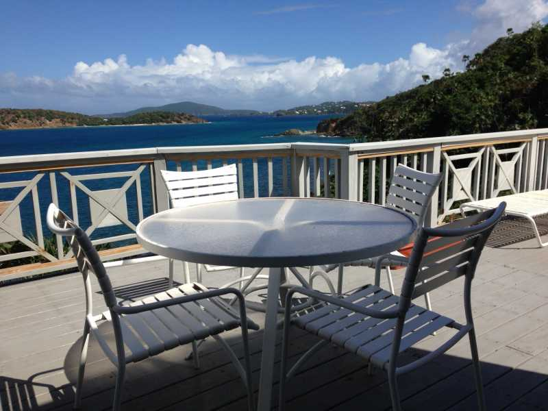 great views from Caret Bay Villas