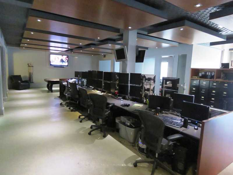 Flexibility to keep the trading desk, or change to cubicles