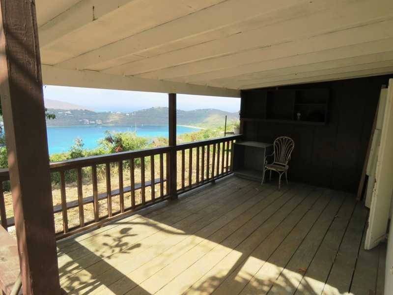 Large Porch overlooking Magens Bay and BVI