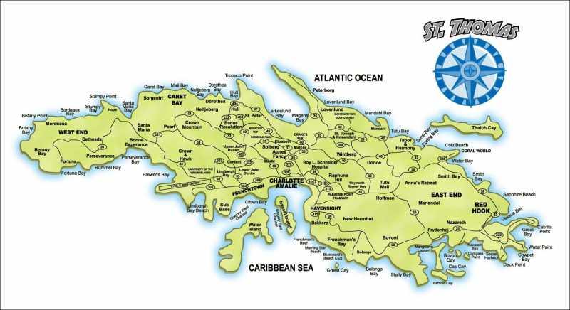 virgin islands maps st thomas virgin islands real estate