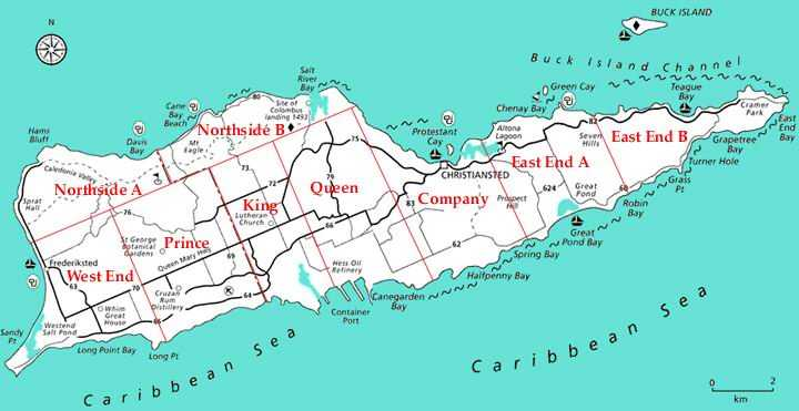 Virgin Islands Maps | St. Thomas Virgin Islands Real Estate